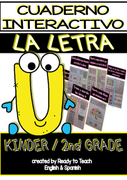 Interactive Notebook in Spanish - Letter U