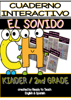 Interactive Notebook in Spanish - Sound CH