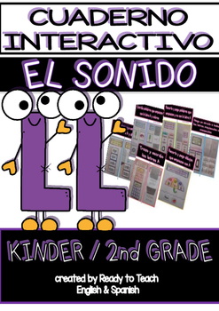 Interactive Notebook in Spanish - Sound LL