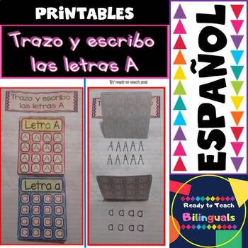 Back to School - Interactive Notebook in Spanish - The Spanish Alphabet - Bundle