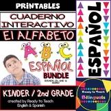 Interactive Notebook in Spanish - The Spanish Alphabet - Bundle