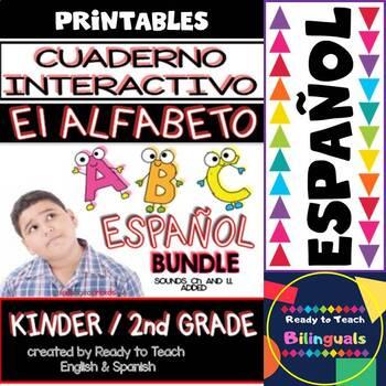 Interactive Notebook in Spanish - The Spanish Alphabet - B