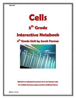 Interactive Notebook on Cells