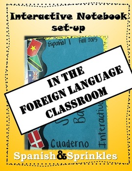 Interactive Notebook set-up in the foreign language classroom