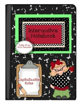 Interactive Notebook~Capitalization Rules