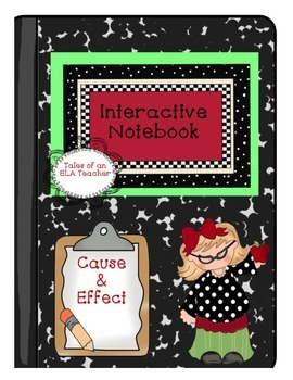 Interactive Notebook~Cause & Effect {Angry Bird Inspired Theme}