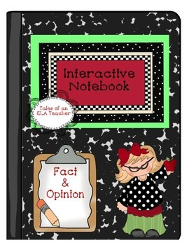 Interactive Notebook~Fact and Opinion {That's a Fact Jack}
