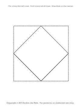 Interactive Notebook/Lapbook Geometric Foldable Templates