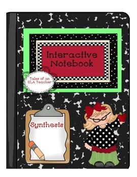 Interactive Notebook~Synthesis {1950's Rockin' Roll Theme}