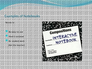 Interactive Notebooking