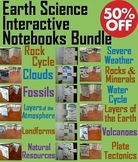 Earth Science: Clouds, Fossils, Severe Weather, Rock Cycle Activities Bundle