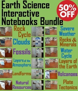 Earth Science: The Rock Cycle, Clouds, Fossils, Severe Wea