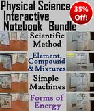 Physical Science Interactive Notebooks Bundle: Energy, Scientific Method, etc.