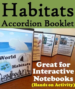 Life Science Interactive Notebooks: Biomes, Cells, Animal Adaptations Activities
