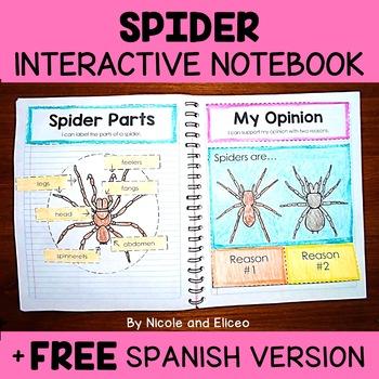 Fall Animal Interactive Notebooks Activities Bundle