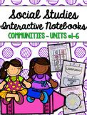2nd Grade Social Studies Interactive Notebooks BUNDLE