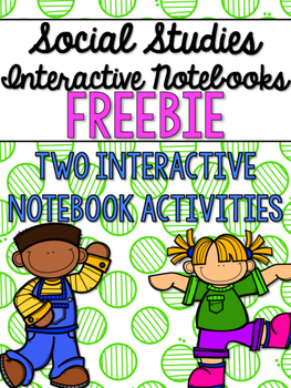 Social Studies Interactive Notebooks - Grade 2 FREEBIE