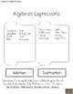Interactive Notebooks : Expressions & Equations Complete Strand of Foldables!