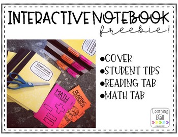 Interactive Notebooks FREEBIE!