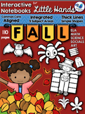 Interactive Notebooks For Little Hands FALL (110 pgs) Whim