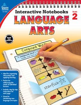 Interactive Notebooks Language Arts Grade 2 SALE 20% OFF 104653