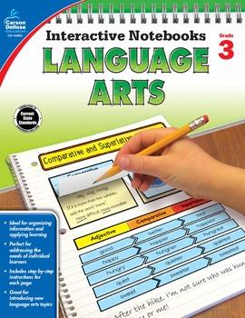 Interactive Notebooks Language Arts Grade 3 SALE 20% OFF 104654