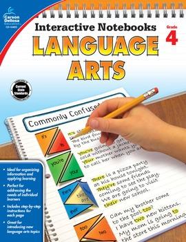 Interactive Notebooks Language Arts Grade 4 SALE 20% OFF 104655