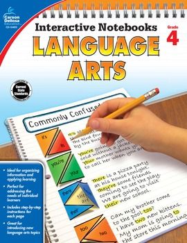 Interactive Notebooks Language Arts Grade 4 SALE 20% OFF 104655