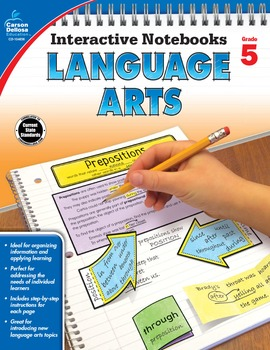 Interactive Notebooks Language Arts Grade 5 SALE 20% OFF 104656