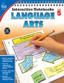 Interactive Notebooks Language Arts Grade 5 SALE 20% OFF 104656