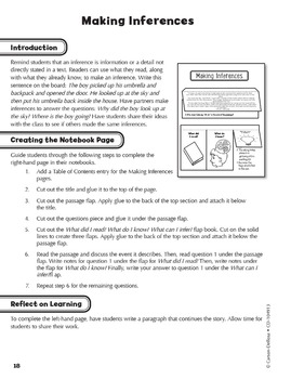 Interactive Notebooks Language Arts Grade 6 SALE 20% OFF 104913
