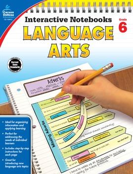 Interactive Notebooks Language Arts Grade 6 SALE 20% OFF 104913