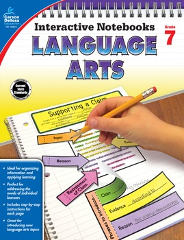 Interactive Notebooks Language Arts Grade 7 SALE 20% OFF 104914