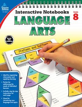 Interactive Notebooks Language Arts Grade 8 SALE 20% OFF 104915