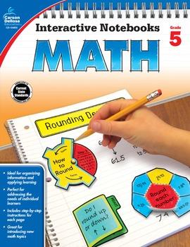 Interactive Notebooks Math Grade 5 SALE 20% OFF 104650