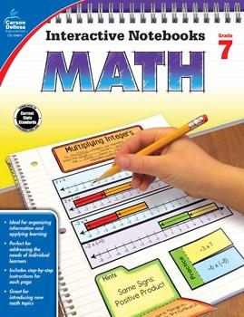Interactive Notebooks Math Grade 7 SALE 20% OFF 104911