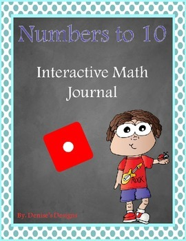 Numbers to 10 Interactive Notebook