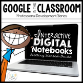 Interactive Notebooks | Professional Development Google Drive Distance Learning
