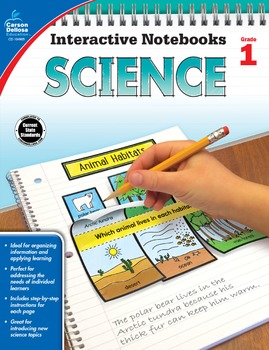 Interactive Notebooks Science Grade 1 SALE 20% OFF 104905