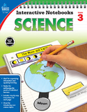 Interactive Notebooks Science Grade 3 SALE 20% OFF 104907