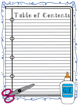 Interactive Notebooks - Table of Contents