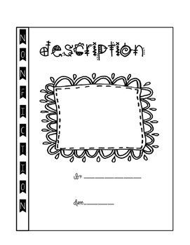 Interactive Notebooks Writing Final Copy of Description