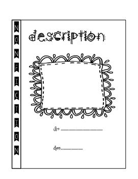 Interactive Notebooks Writing Final Copy of Description
