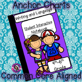 Interactive Notebook Writing, Language, and Speaking and Listening