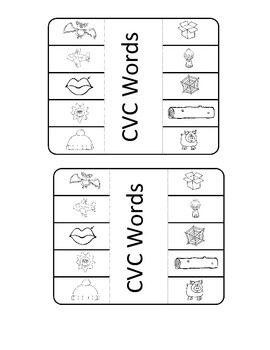 Interactive Notebooks for CVC, CVCe, CVVC and CCVC