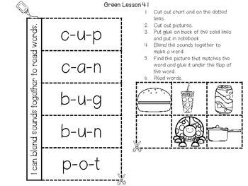 Interactive Notebook Leveled Literacy Intervention LLI Green Level D Version 1