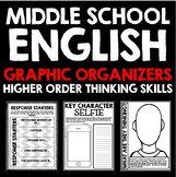 Middle School English Graphic Organizers