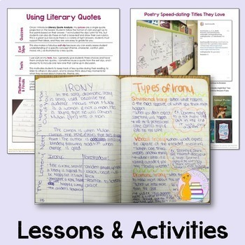Interactive Notebooks for Secondary ELA - Yearlong Bundle