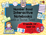 Interactive Notebooks with a Techie Twist!  Add-On Friends