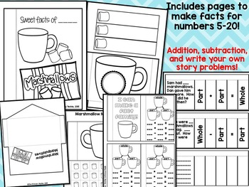 Interactive Notebooks with a Techie Twist!  Add-On Winter Theme Number Bonds